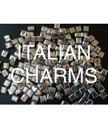 100 New Italian Charm Bracelet Links Bulk Lot W... - $20.00