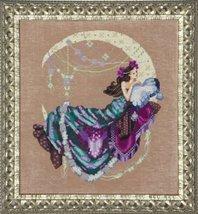 FULL AIDA KIT Moon Flowers MD137 cross stitch Mirabilia Designs - $47.30