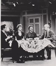 I Love Lucy Table Lucille Ball Vintage 8X10 BW TV Memorabilia Photo - $4.99