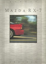 1991 Mazda RX-7 sales brochure catalog 2nd Edition US 91 Turbo - $12.00