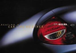 2000 Nissan MAXIMA brochure catalog US 00 GXE GLE SE 4DSC - $8.00