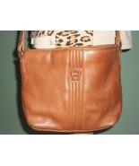 ETIENNE AIGNER Genuine Leather British Tan Shoulder Bag Handbag - $25.00