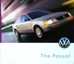1999 Volkswagen PASSAT sales brochure catalog US 99 VW GLS GLX V6 - $8.00