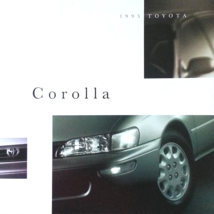 1995 Toyota COROLLA sales brochure catalog US 95 DX LE - $6.00