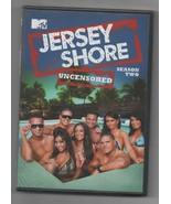 Jersey Shore Season 2 DVD Uncensored 2010 Plus Reunion Special 4 Disc - $14.45