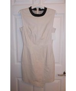 Trina Turk Ivory Lamb Leather Dalia Business Of... - $219.99