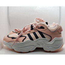 New Adidas Magmur Runner Running shoes, Pink White 6.5 - $61.38