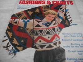 Family Circle Great Ideas Fashions & Crafts Magazine - $7.00