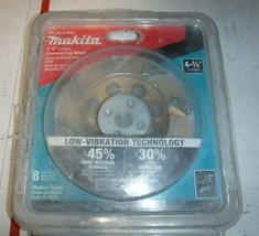 "MAKITA 4-1/2"" Turbo 8 Segment Diamond Cup Wheel Low Vibration A-96403 NEW - $25.73"