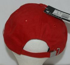 Adidas Golf Headwear Powdered Red White One Size Fits Most B89899 image 4