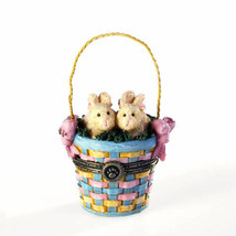 "Boyds Bears Treasure Box ""Willow & Tulas Easter w/Eggsley McNibble"" #401... - $24.99"