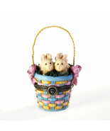 """Boyds Bears Treasure Box """"Willow & Tulas Easter w/Eggsley McNibble"""" #401... - $24.99"""
