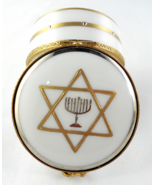 Limoges Box - Menorah - Star of David Judaica -... - $89.00