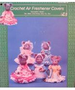 AIR FRESHENER COVERS Crocheted CROCHET Patterns MICE MOUSE Collectible - $6.95