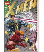 Marvel X-Men #1 Gatefold Cover Deluxe Edition Jim Lee Chris Claremont Wo... - $7.95