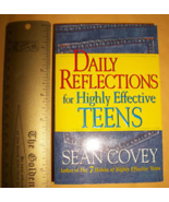 Education Gift Success Guide Book Daily Reflections For Highly Effective... - $6.64