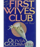 THE FIRST WIVES CLUB~OLIVIA GOLDSMITH~HCDJ - $9.99