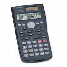 Casio FX-300MS Scientific Calculator, 10-Digit Display w/ 229 Built in F... - $17.95