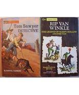 Rip Van Winkle LEGEND OF SLEEPY HOLLOW & Tom Sawyer DETECTIVE Companion ... - $3.99