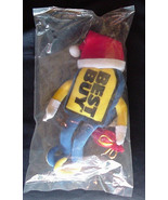 BEST BUY Store Promotion 1999 Vintage Holiday Plush Beanie Toy New in Ba... - $18.99