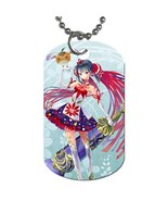 Aoba Naruko Mahou Shoujo Taisen Manga Anime Dog Tag necklace Keychain - $10.00