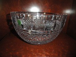 """waterford irish lace 10"""" crystal bowl Model 149575 new in the original box - $280.25"""