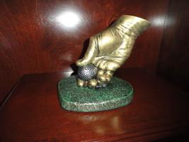 """"""" Teeing Up"""" Golf Sculpture by John Cutrone - $166.73"""
