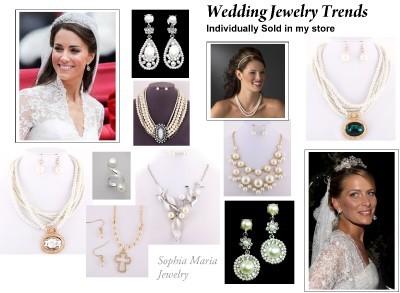 Stunning flower bib cream pearl necklace set birdal evening party prom jewelry image 2