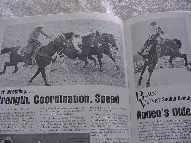 cheyenne frontier days1982 souvenir programcheyenne