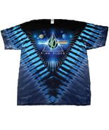 Pink Floyd  40th Years Tie Dye Short Sleeve Shirt  Size XL      music   60s - $28.99