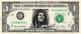 BOB MARLEY on a REAL Dollar Bill Cash Money Collectible Memorabilia Cele... - $7.77