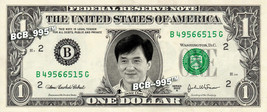 JACKIE CHAN on a REAL Dollar Bill Cash Money Collectible Memorabilia Cel... - $5.55