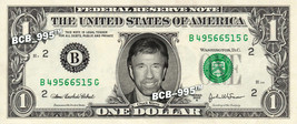 CHUCK NORRIS on a REAL Dollar Bill Cash Money Collectible Memorabilia Ce... - $5.55