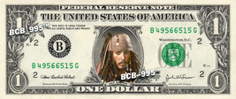 Disney's Captain Jack Sparrow (Pirates of the Caribbean) on REAL Dollar ... - $8.88