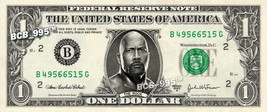 THE ROCK on REAL Dollar Bill - Collectible Celebrity Custom Cash Money Art - $3.33