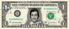 ANDY KAUFMAN on REAL Dollar Bill - Cash Money Currency Bank Note Dinero ... - $4.44