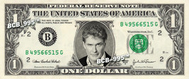DAVID HASSELHOFF on REAL Dollar Bill - Collectible Celebrity Cash Money Art - $3.33