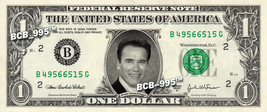ARNOLD SCHWARZENEGGER on a REAL Dollar Bill Cash Money Collectible Memor... - $5.55