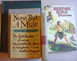 5 lot Vintage books assortment NONE BUT A MULE  Post Offices of New York... - $1.99