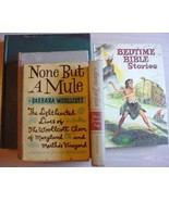 5 lot Vintage books assortment NONE BUT A MULE ... - $1.99