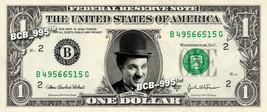 Charlie Chaplin On Real Dollar Bill   Celebrity Collectible Custom Cash - $3.33