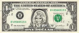 NICKI MINAJ on REAL Dollar Bill Spendable Cash Collectible Celebrity Money - $3.33