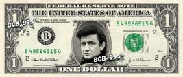 JOHNNY CASH on A REAL Dollar Bill Cash Money Collectible Memorabilia Celebrity - $4.50
