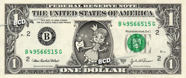 TOOTH FAIRY on a REAL Dollar Bill Cash Money Bank Note Dinero Currency - $5.55