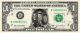 ZZ TOP on REAL Dollar Bill - Celebrity Collectible Custom Cash - $3.33