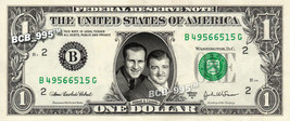 ABBOTT & COSTELLO on REAL Dollar Bill - Celebrity Collectible Custom Cash - $3.33