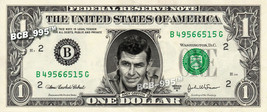 ANDY GRIFFITH on a REAL Dollar Bill Cash Money Collectible Memorabilia C... - $5.55