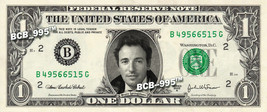 BRUCE SPRINGSTEEN on a REAL Dollar Bill Cash Money Collectible Memorabil... - $5.55
