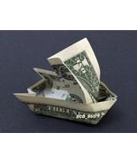 SAIL BOAT Money Origami - Dollar Bill Cash Art - Unique Gift Idea - $14.95 - $150.00