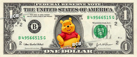 Disney's Winnie the Pooh on REAL Dollar Bill - Collectible Cash Money - $3.33